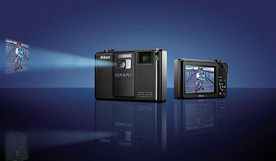 Nikon Coolpix S1000pj-aparat foto cu video proiector