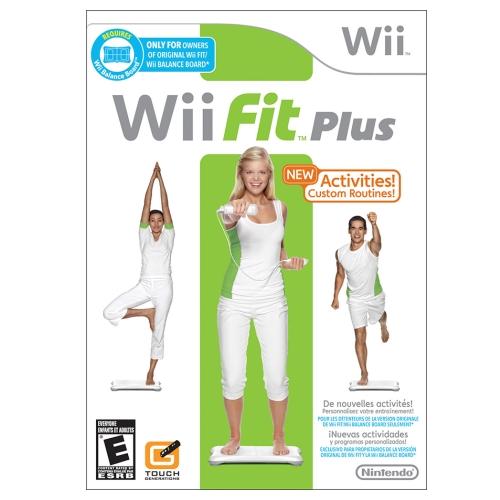 Joc Fit Plus pentru Nintendo Wii