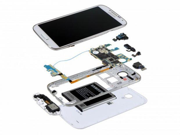 Care sunt partile componente de la interiorul unui smartphone?