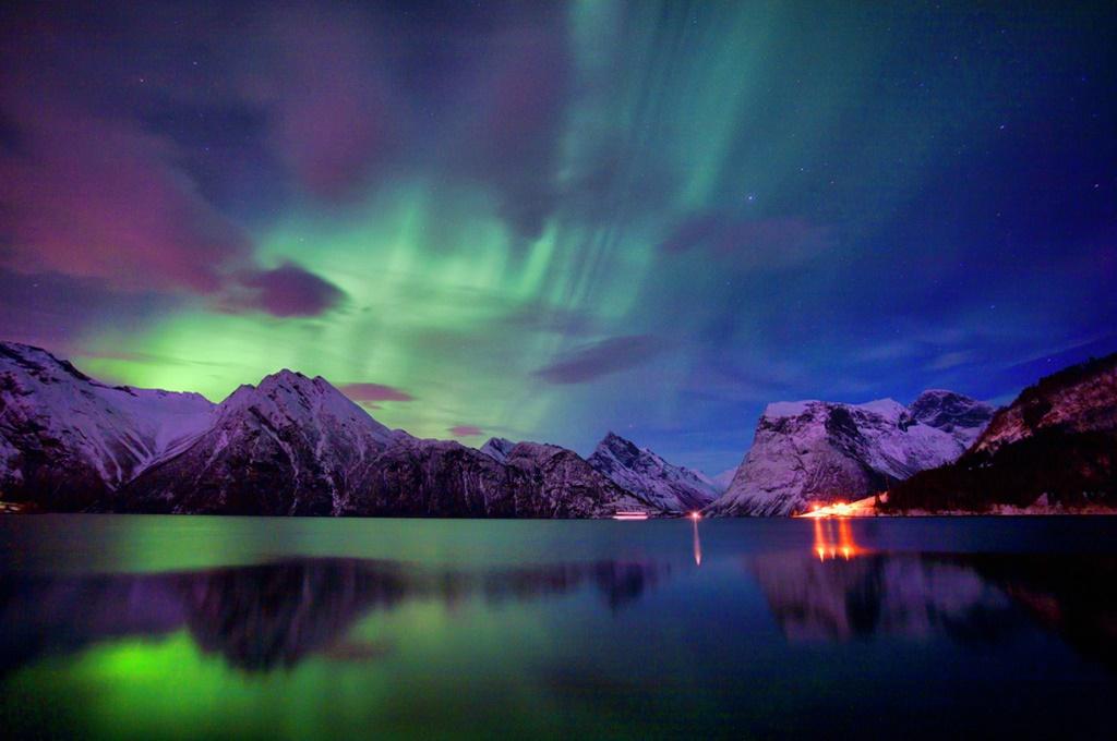Ce este aurora boreala?