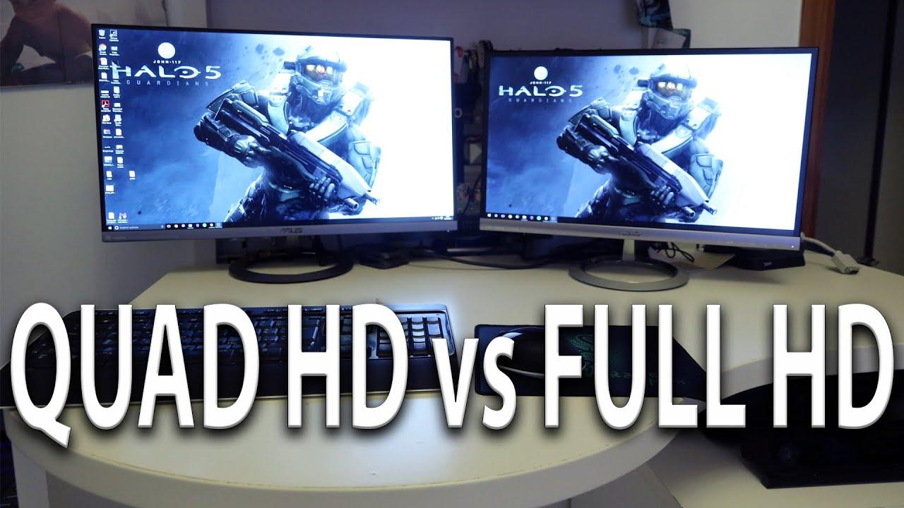 Care este diferenta dintre Quad HD si Full HD?